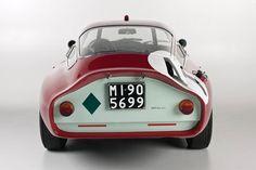 """crudmudgeon: """" 1964 Alfa Romeo TZ Coupe """""""