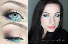 Carribean accent. My FB fan page: http://www.facebook.com/pages/KatOsu/193356810711045  #makeup