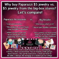 Paparazzi Facebook party - why buy from us