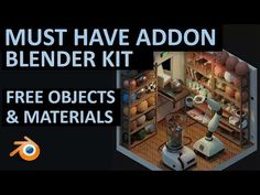 This is a MUST HAVE Addon | Free Materials and Models | BlenderKit - YouTube Blender 3d, Blender Models, Manipulation Photography, Photography Editing, Photo Manipulation, Portrait Photography, Free 3d Modeling Software, Modeling Tips, Cinema 4d Tutorial