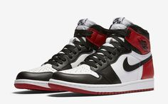 Official Images Of The Air Jordan 1 Retro High OG Black Toe 2016