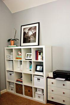 Office organization inspiration.