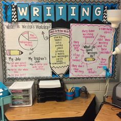 Writer's Workshop in the Primary Classroom Launching Writer's Workshop in the Primary Classroom - Teaching With Crayons and CurlsLaunching Writer's Workshop in the Primary Classroom - Teaching With Crayons and Curls Fourth Grade Writing, Kindergarten Writing, Teaching Writing, Writing Rubrics, Kindergarten Writers Workshop, Paragraph Writing, Opinion Writing, Persuasive Writing, Writing Process