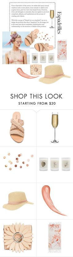 """Untitled #13"" by dshbl ❤ liked on Polyvore featuring Beach Riot, Nude, Umbra, Elizabeth Scarlett, Miss Selfridge, Fendi and Marinette Saint-Tropez"