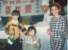 Mika with his sisters