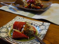 Stuffed Pepper with Sweet Sour Sauce - theMatchaGreen Pork Meat, Least Favorite, Stuffed Sweet Peppers, Meatloaf, Main Dishes, Appetizers, Vegetables, Cooking, Desserts