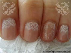 """would look cute with the """"lace"""" at the tips instead"""