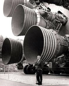 """the """"Father of Rocket Science,"""" Wernher von Braun developed the technology that would land the first men on the moon"""