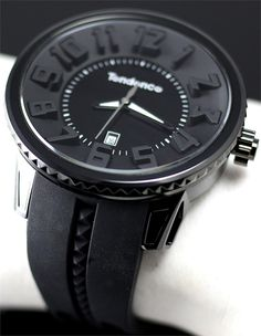 Tendence All Black 3H Gulliver Watchismo.com
