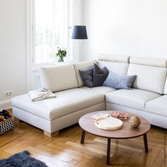 Home Living Room, Scandinavian Design, My Dream Home, Sofas, Sweet Home, Lounge, Couch, House Styles, Furniture