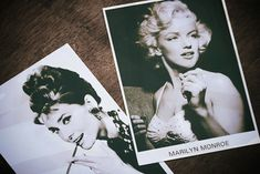 Marilyn Monroe & Audrey Hupburn....I woulda LOVED to hav grown up during their generation