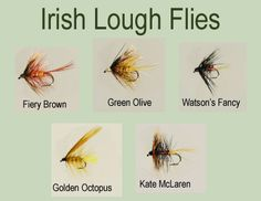 10 Pack Trout Fly Irish Lough Bumble Flies