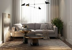 Fotos de salas com detalhes modernos - Decoração e Ideias - casa e jardim
