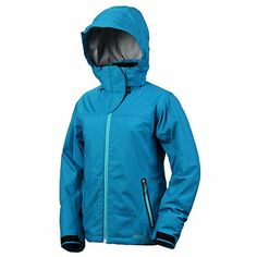 Marker Cresta Womens Insulated Ski Jacket   I was very surprised to find that this coat in a size M is really big. I also find that it isn't very attractive cause of the extra bulk. I bought the light blue coat, which is pretty, but a lot brighter than I expected. If I could I would return this coat for a smaller size and a different color. I will say that it is VERY warm and waterproof. I also really like the number of pockets, plenty of places to put stuff.
