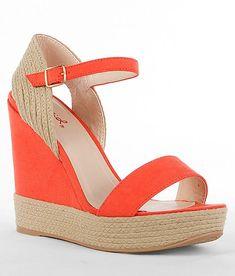 'Hampton Sandal'  #buckle #shoes #wedges  www.buckle.com