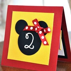 Minnie Mouse cards/invitations