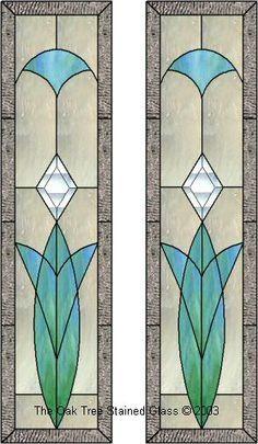 nice side panels for a door