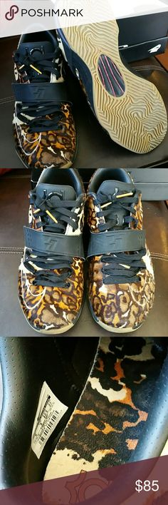 KD VII  EXT QS    CALF HAIR Calves hair.  Barely worn and in excellent condition.  Comes in original box. Outgrew them quickly.   Bought from Nike and will include receipt for authenticity. Nike Shoes Sneakers