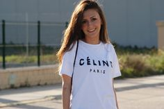 No heels - No party: Celine T-shirt  http://www.noheels-noparty.com/2013/05/celine-t-shirt.html  #celine #fashion #blogger #inspiration #streetstyle