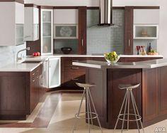 Rustic Modern Kitchen Design.