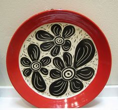 Cindy Buehler - red plate