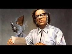 Isaac Asimov Biography - Born on January 1920 in Russia, Isaac Asimov was an American writer specializing in the genre of science fiction. Isaac Asimov, Fiction Movies, Science Fiction Books, Sci Fi Books, Audio Books, Paul Is Dead, Good Books, My Books, Writer Quotes