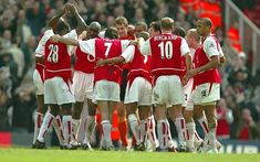 Arsenal Invincibles - Top 20 sporting moments of the decade in pictures