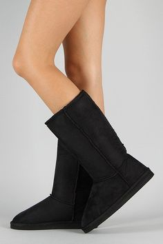 Keep your feet warm and cozy this season with these comfy mid calf boots ! It features round toe front, stitching details, and low flat heel. Flat Boots, Mid Calf Boots, Wedges, Flats, Heels, Toe, Window, Fashion, Loafers & Slip Ons