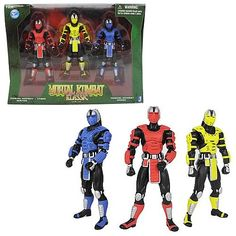 Mortal Kombat 2 4-Inch Classic Robot Action Figure Set - Jazwares - Mortal Kombat - Action Figures at Entertainment Earth