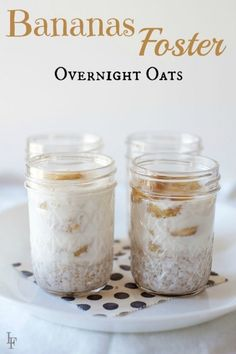5 No Cook Overnight Refrigerator  Oatmeal Recipes