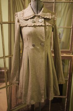 weater Coat Vintage Inspired/Neo Victorian/Steampunk
