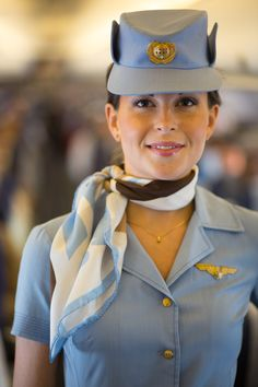 SAS flight attendant