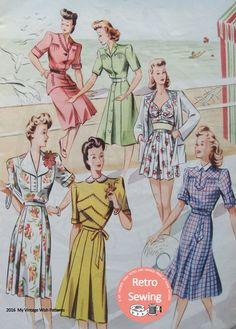 The Haslam System of Dressmaking No. 16 1940's  PDF
