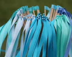 Image result for blue streamers windows party
