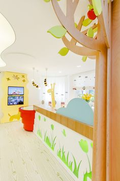 Dental clinic for children with a gorgeous design Dent Estet 4 Kids - Hamid Nicola Katrib - www.homeworlddesign. com (2)
