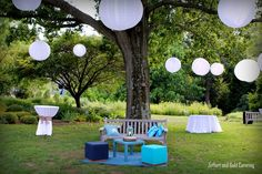 Zeffert & Gold | zeffertandgold.com | Baltimore Wedding Catering and Corporate Event Catering | DIY outdoor furniture | Lanterns | Summer Weddings I think this may be who KC works for