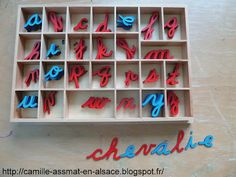 alphabet mobile Montessori