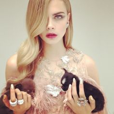 CARA DELEVINGNE picture by NICK KNIGHT