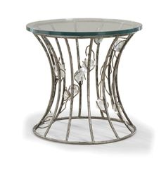 InStyle-Decor.com Beverly Hills Quartz Crystal Side Table Inspiring Interior Design Fans With Beautiful Home Decor Ideas From Hollywood Enjoy & Happy Pinning