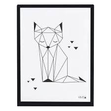 Bildergebnis für geometrische tiere schwarz weiß