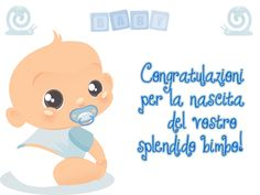 Auguri per la nascita di un bimbo...
