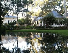 Paula Deen's house in Savannah--there are also a section of Celebrity Houses!  Beautiful!