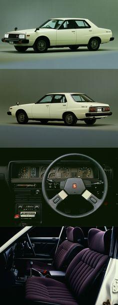 1979 Nissan Skyline 2000 GT-ES Sedan / HGC211 / 17-442 / white purple / Japan