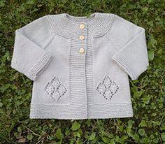 Perla Cardigan -- free pattern, 18-24m size only