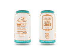 Golden State Cider on Packaging of the World - Creative Package Design Gallery