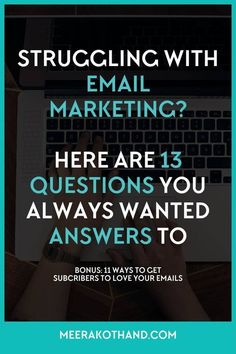Struggling with email lists? - Email List Marketing Tips - Ideas of Email List Marketing Tips - Wish you could get answers to all those pesky email marketing questions on your mind? They seem simple enough but you just can't
