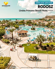 Lindos Princess Beach Hotel 🧡🧡🧡🧡+ Görögország, Rodosz, Lardos CSALÁDBARÁT  www.neckermann.hu/szallas/lindos-princess-beach-hotel/52073?catalog=NAH  Családok körében kedvelt, közvetlen tengerparti komfortszálloda szép kerttel, remek konyhával és barátságos kiszolgálással. Naha, Beach Hotels, Princess, Princesses