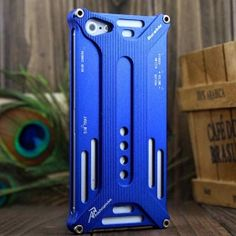 $9.62 New Durable Aluminum Transformer Pattern Protective Case Cover for Apple iphone 5 with Transformers Metal Bumper(Blue)   esaledeal.com
