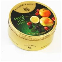 Mixed Fruit Drops: A tin of mixed fruit candies. You will love to eat them one after the other.