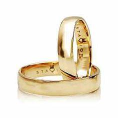 Staviori Obrączka.  Żółte Złoto 0,585.  Szerokość 4 mm. Grubość 1,2 mm.  Dostępne inne kolory złota.